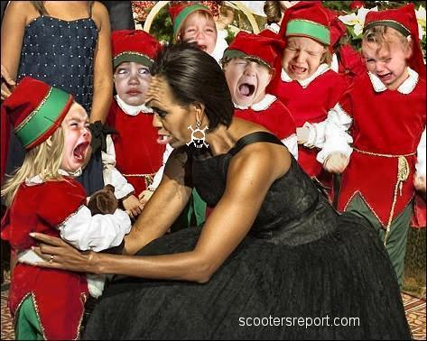 Michelle and the kids