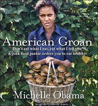 Michelle Obama American Groan Book
