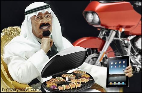 Abdullah and handouts