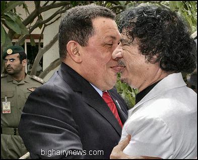 Chavez and Gaddafi