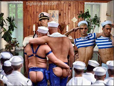 Gay Naval Wedding