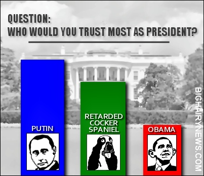 Putin Obama poll