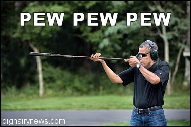 Obama shooting gun 2