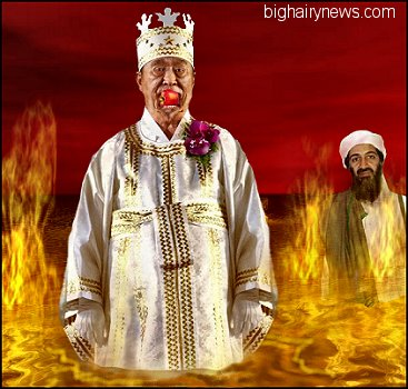 Sun Myung Moon in Hell