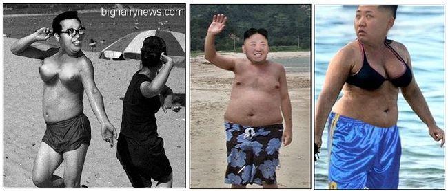 Kim Jong-un plastic surgery proof