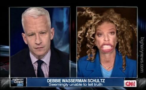 Wasserman Schultz on Anderson Cooper