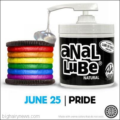 Gay Pride Oreo