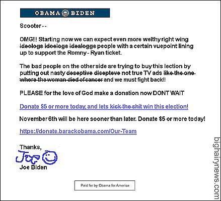 Joe Biden fundraising_email