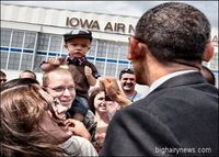Obama and little boy
