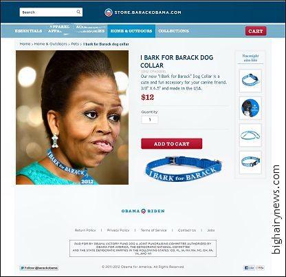 Obama pet accessories