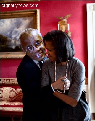 Derrick Bell and Michelle Obama