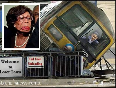 Maxine Waters and Obama
