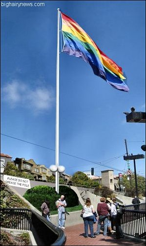 Castro Gay Pride Flag