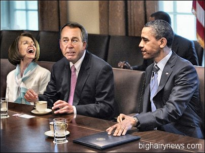 Pelosi gropes Boehner