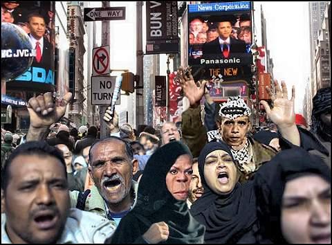 Protest Against Islamophobia