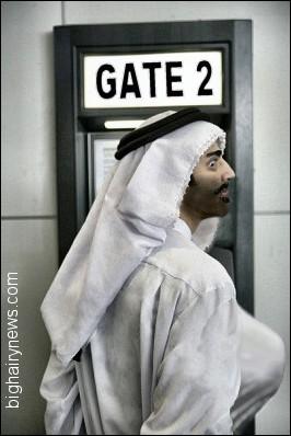Terrorist with implants
