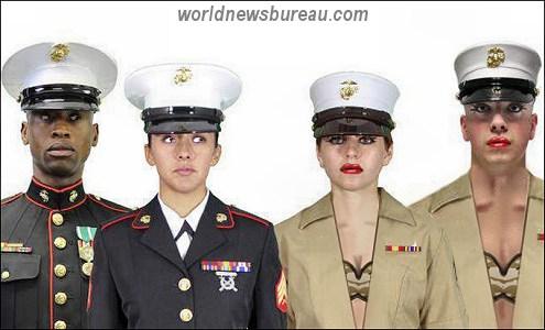 New Unisex Marine Uniforns