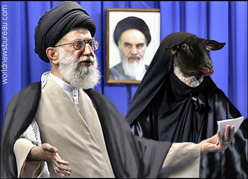 Ayatollah Ali Khamenei and Wife