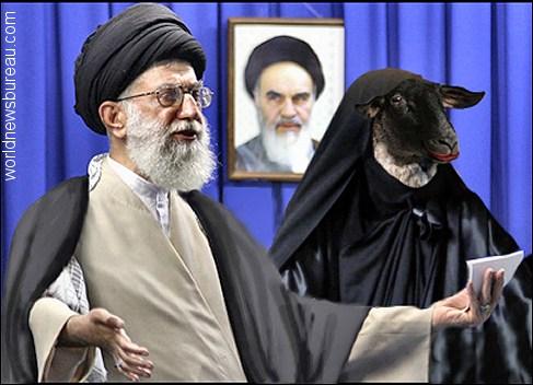 Ayatollah Ali Khamenei and Wife