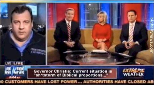 Chris Christie Shitstorm