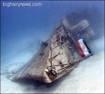 Iranian Navy Artificial Reef