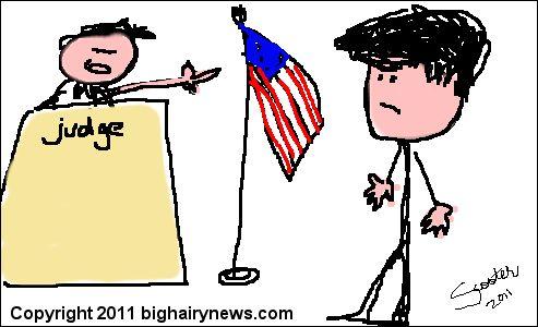 Blago in court