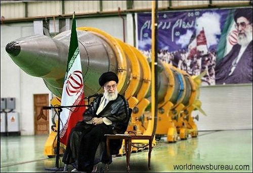 Khamenei and missile