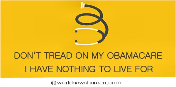Dont tread on my obamacare