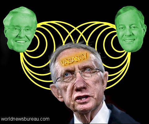Koch brothers taunt Harry Reid