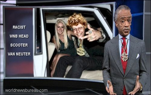 Al Sharpton threatens Scooter Van Neuter
