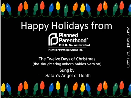 Planned Parenthood Christmas ad