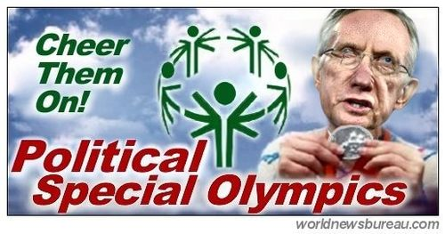 Political Special Olympics Reid