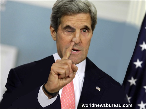 John Kerry on the offensive