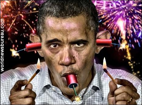 Firecracker Obama
