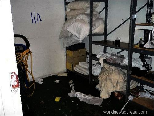 Grand Hotel Supply closet