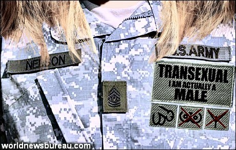 Transexual Army Uniform