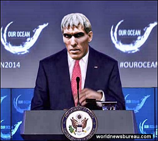 John Kerry at ourocean 2014