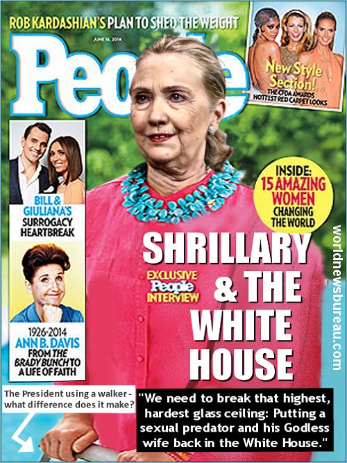 Hillary Clinton People Magazine