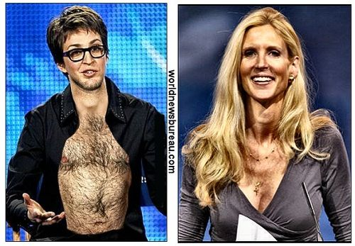 Maddow and Coulter
