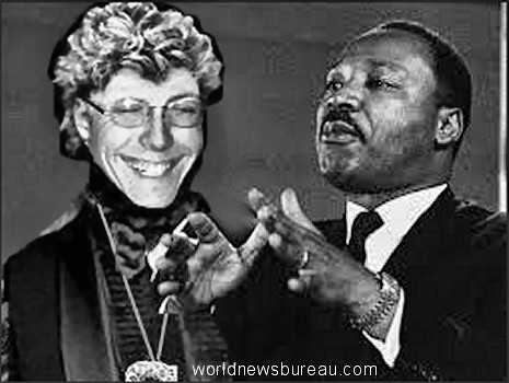 Scooter Van Neuter and Martin Luther King