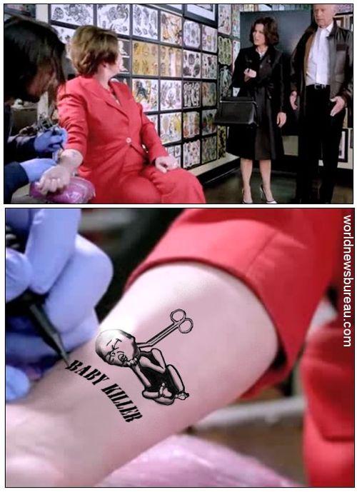 Nancy Pelosi Tattoo