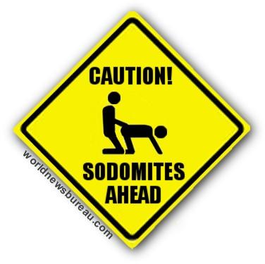 Sodomites ahead