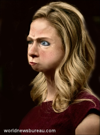 Angry Chelsea Clinton