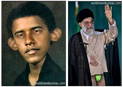 Obama, Khamenei