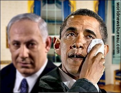 Bibi Makes Obama Cry