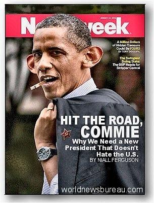 Newsweek Hit The Road Obama