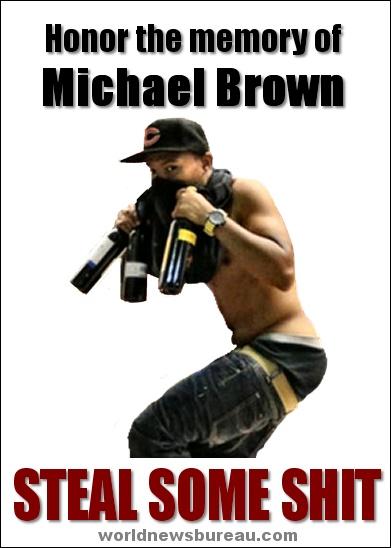 Michael Brown flier