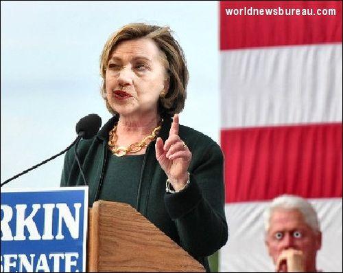Hillary at Iowa