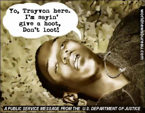 Dead Trayvon PSA - Dont Loot