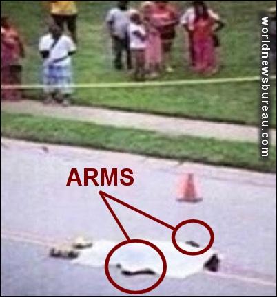 Armed Michael Brown